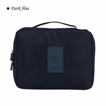 Torubia Multi-function Makeup Cosmetic Bag Toiletry Travel men's and women's Kit Organizer(navy blue)