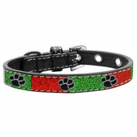 Paw Widget Christmas Ice Cream Collar Size 12