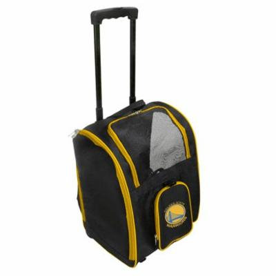 NBA Golden State Warriors Premium Pet Carrier with Wheels