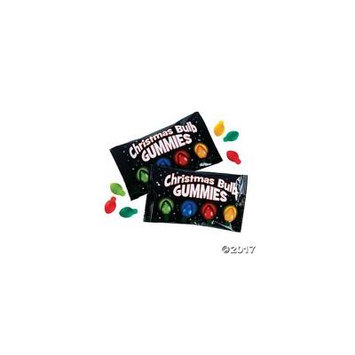 Christmas Bulb Gummy Candy Pack of 1