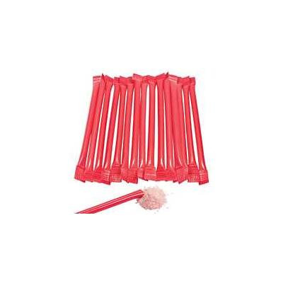 Red Candy-Filled Straws Pack of 12