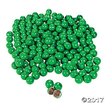 Green Chocolate Candy Pack of 1