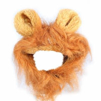 3Colors Fashionable Pet Cat Dog Puppy Wig Autumn Winter Costume With Ears