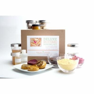 Deluxe DIY Mustard Making Kit - learn how to make six types of home made mustards