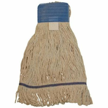 JaniMop Looped End Heavy Duty Wet Mop, Wide Band, Large, 1 Each