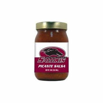 Hot Sauce Harrys 2773 16 oz Southern Illinois Salukis NCAA Medium Picante Salsa