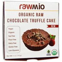 Rawmio, Organic Raw Chocolate Truffle Cake, 5 oz (pack of 12)