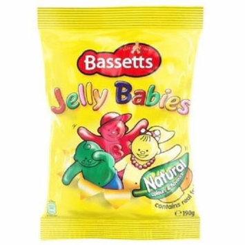 Bassett's Jelly Babies (190g) - Pack of 2