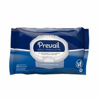 Prevail Adult Soft Washcloths Scented, 8'' x 12'', 48 Count, 10 Pack