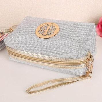 Hascon Women Makeup Bag Large Capacity Storage Organization Bag Protable Bathroom Home Travel Cosmetic Bag HITC