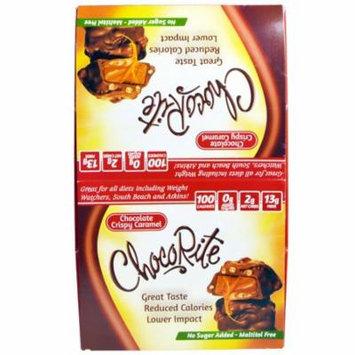 HealthSmart Foods, Inc., Chocorite, Chocolate Crispy Caramel, 16 Count, 1,13 oz(pack of 3)