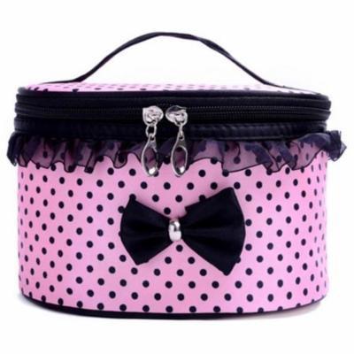 Mosunx Portable Travel Toiletry Makeup Cosmetic Bag Organizer Holder Handbag PK