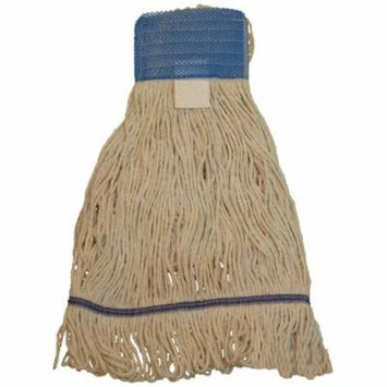 JaniMop Looped End Heavy Duty Wet Mop, Wide Band, Small, 1 Each