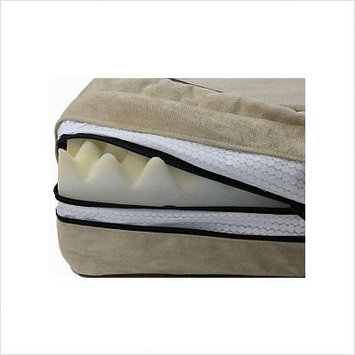 O'donnell Industries Odonnell Industries 95674 Medium 5 in. Thick Outlast Dog Bed LeafLight Camel