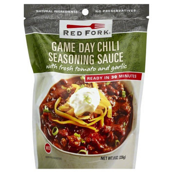 Red Fork Seasoning Sauce Game Day Chili 8 oz