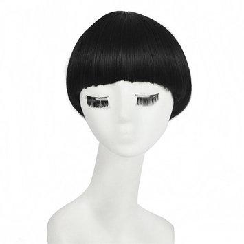 SiYI Fashion Girl Star BOB Sexy Wig Synthetic Hair 11.8 Inch Short Wigs Black