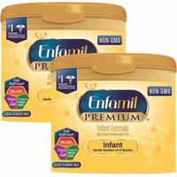 (2 Pack) Enfamil PREMIUM Infant Formula, Powder 22.2 Ounce Tub