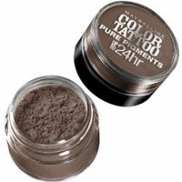 Maybelline New York Eye Studio Color Tattoo Pure Pigments Eye Shadow - Downtown Brown (Pack of 2)