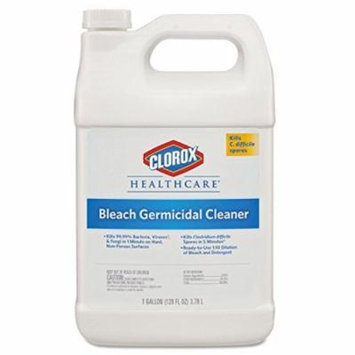 ** Hospital Cleaner Disinfectant w/Bleach, 128 oz Refill