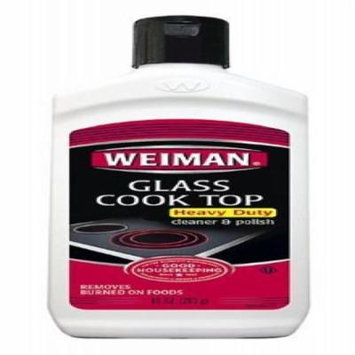 Weiman Glass Cook Top Heavy Duty Cleaner and Polish 10 Oz (Pack of 4)
