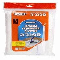 Superio Squeegee Cloth 3-Pack (White)
