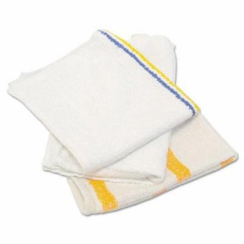 Hospital Specialty Co. Counter Cloth/Bar Mop, Value Choice, White, 25 Pounds/Bag - Includes 25-lbs of bar cloths.