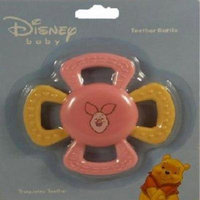 Piglet Teether Rattle for Baby Girls (colors may vary)