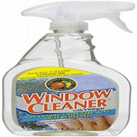 Earth Friendly Products Window Cleaner with Vinegar, 22 Oz