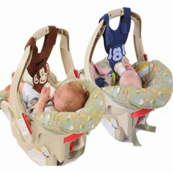 Boy Twins Baby Bottle Holders (Puppy and Monkey)