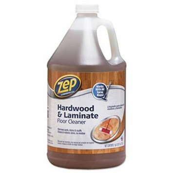 Zep Hardwood Floor Cleaner - Liquid Solution - 128 fl oz (4 quart) - Blue