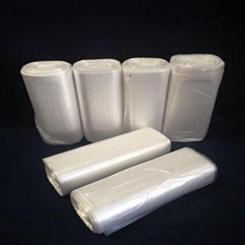 300 Office Clear 6 Mic Trash Bag Liners 24x33 12~15 Gallon - BEST ON MARKET