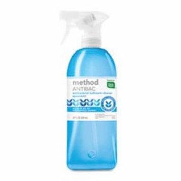 Method Products 01152 Antibacterial Spray, Bathroom, Spearmint, 28 oz Bottle