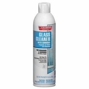 CHA5151 - Champion Sprayon Glass Cleaner With Ammonia, 19oz, Aerosol