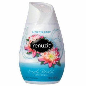 Renuzit Adjustable Air Freshener, After the Rain Scent, Solid, 7.5 oz - 12 air fresheners.