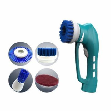 Cleaning Brush, EROLLDEEP Portable Handheld Household Scrub Brush Set Automatic Powerful Scrubber Brush for Kitchen Bathroom
