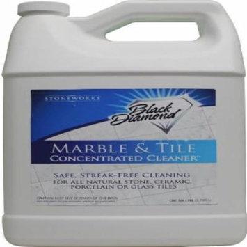 Black Diamond Marble & Tile Floor Cleaner. Great for Ceramic, Porcelain, Granite, Natural Stone, Vinyl & Linoleum . 2 Gallons No-rinse Concentrate