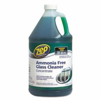 ZPE Ammonia-Free Glass Cleaner, Agradable Scent, 1 gal Bottle (ZU1052128)