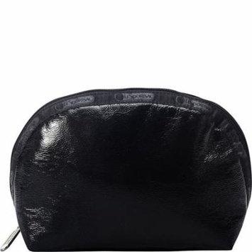 LeSportsac Medium Dome Cosmetic Bag (Black Crinkle)