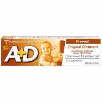 A + D Original Diaper Rash Ointment, 4 Ounce