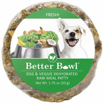 Better Bowl Egg & Veggie Dehydrated Raw Meal Patty