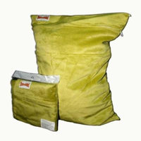 BubuBibi Wet/Dry Bag Cloth Diaper/Swim Soft MINKY GREEN (21