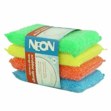 Assorted Scour Pads -4 Count