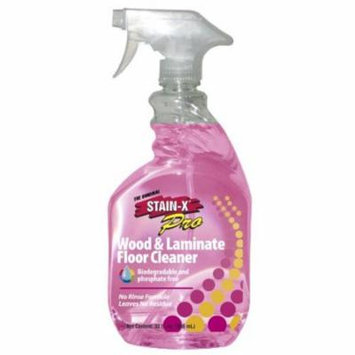 STAIN-X PRO WOOD & Laminate Floor Cleaner - 32 oz