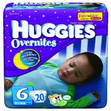 HIGGIES OVERNITES DIAPER SZ6, Higgies Overnites Diaper Sz6, (1 PACK, 20 EACH)