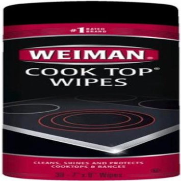 Weiman Glass Cooktop Surface Cleaning Wipes - 30 Count
