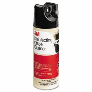 3M Disinfecting Office Cleaner, 12.35 oz. Aerosol, 6/Carton