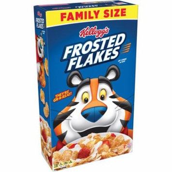 Kellogg's Frosted Flakes Family Size Breakfast Cereal 24 Oz