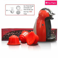 3 Pack Refillable Reusable Capsule Cup Filter for Nestle Coffee Dolce Gusto