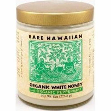 Rare Hawaiian Organic White Honey with Peppermint