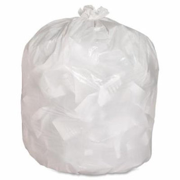 Genuine Joe GJO02312 Heavy Duty Low-Density Kitchen Trash Bag, 13 gallon Capacity, 33 in. Width x 24